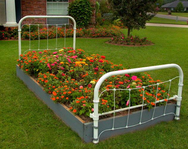 Дизайн участка.Все о дизайне сада . Flower_bed